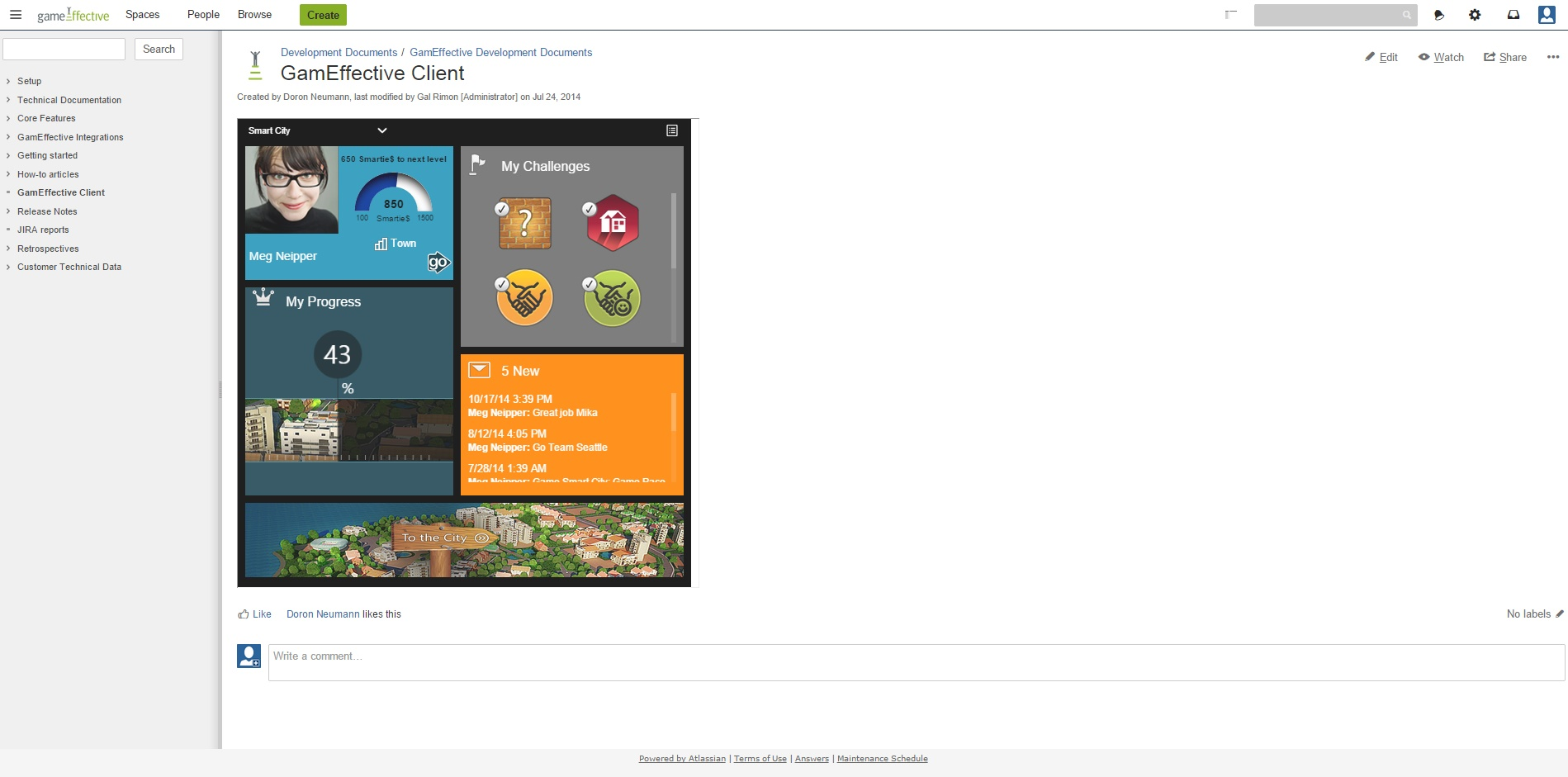 confluence gamification by gameffective