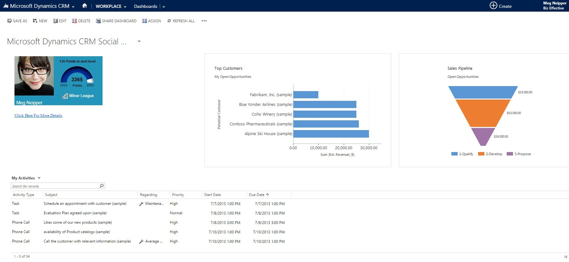 Microsoft Dynamics Gamification by GamEffective